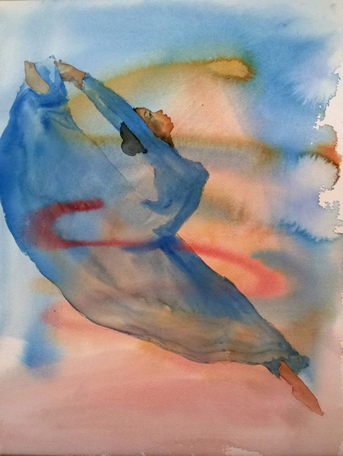 Holly Meeker Rom Expansive Watercolor Northeast Watercolor Society